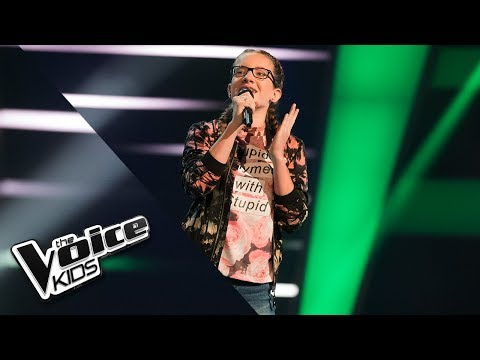 Fabienne – Something Just Like This | The Voice Kids 2018 | The Blind Auditions