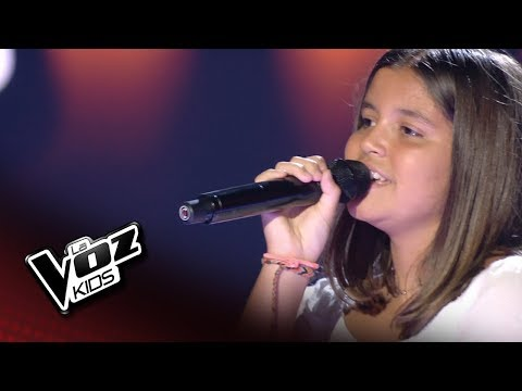 "Lucía Mellado: ""The winner takes it all"" – Audiciones a Ciegas  - La Voz Kids 2018"