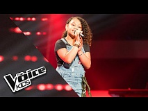 Yosina – Ken Je Mij | The Voice Kids 2018 | The Blind Auditions