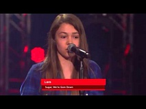 Lara - Sugar, We're Going Down | Blind Audition | The Voice Kids Germany 2016