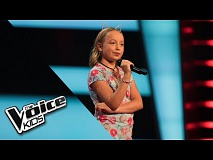 Cloë – Leef | The Voice Kids 2018 | The Blind Auditions